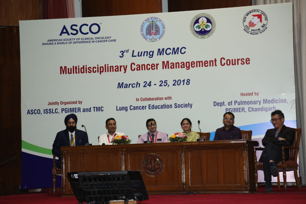 Indian Society for Study of Lung Cancer